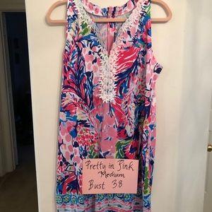 Pretty in pink medium sleeveless dress mini